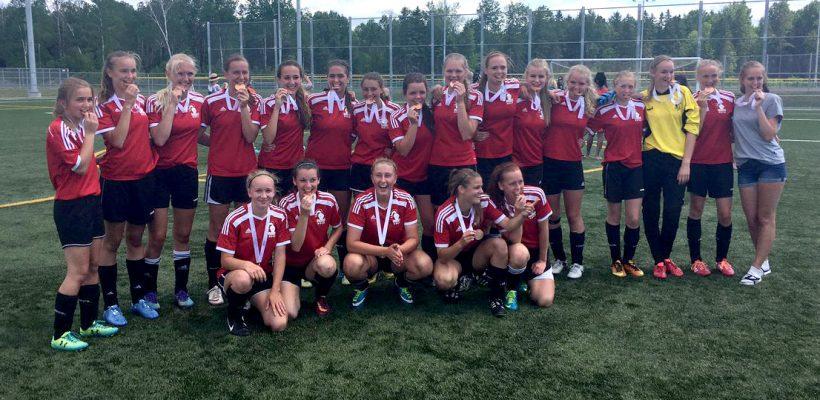 Girls Soccer OFSAA Bronze