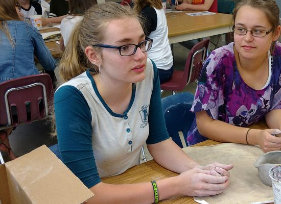Students Collaborate in Art and Science