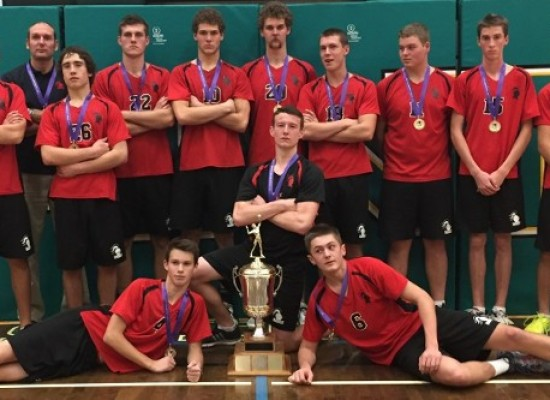 Knights Capture First Volleyball City Championship