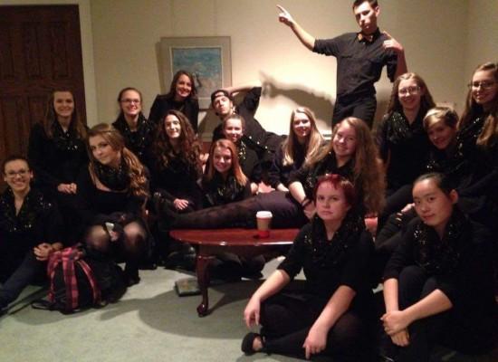Vocals Class participates in Sing Ontario