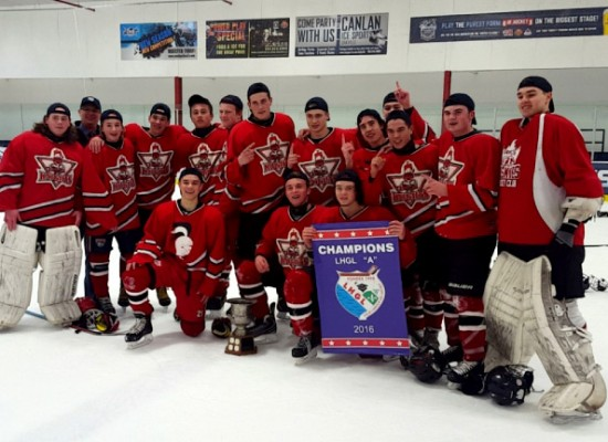 Hamilton District Christian High Knights Hockey Team