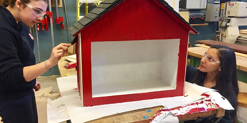 Little Free Libraries at HDCH