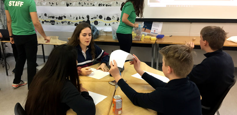 students attending McMaster engineering workshop