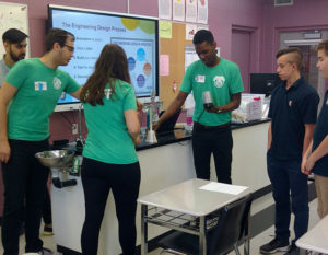 students at McMaster engineering leap workshop